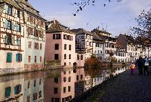 Strasburgh France- the canal
