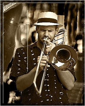 Trombonne Player