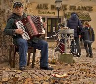 The accordion man Strasburgh France